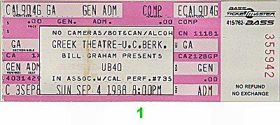UB401980s Ticket