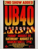 UB40 Handbill
