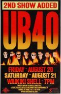 UB40 Poster
