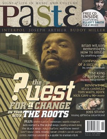 ?uestlovePaste Magazine