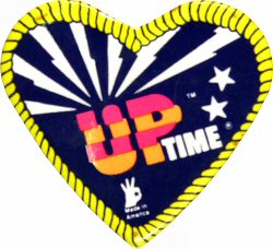 Up Time Vintage Pin
