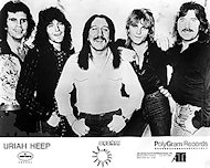 Uriah Heep Promo Print