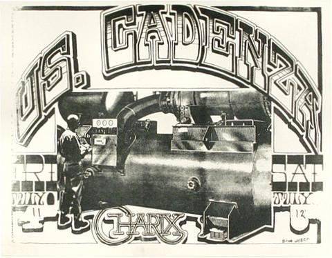 US Cadenza Handbill