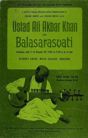 Ustad Ali Akbar Khan Poster