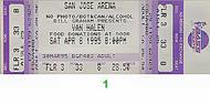 Van Halen 1990s Ticket