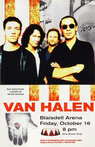 Van Halen Handbill