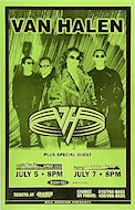Van Halen Poster
