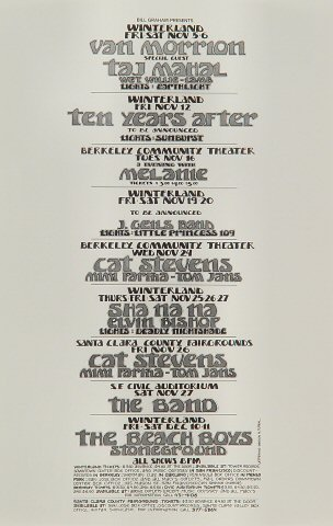 Van MorrisonHandbill