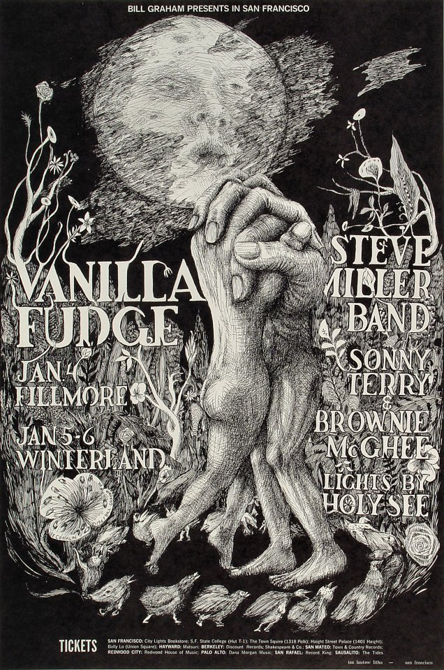 Vanilla Fudge Postcard