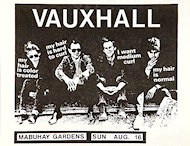 Vauxhall Handbill
