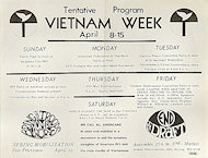 Vietnam Week Handbill