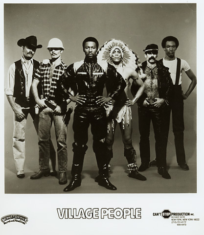 Village PeoplePromo Print