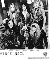 Vince Neil Promo Print