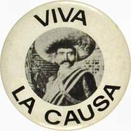 Viva La Causa Vintage Pin