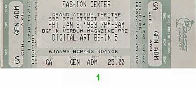 Vortex 1990s Ticket
