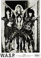 W.A.S.P. Promo Print