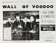 Wall of Voodoo Handbill
