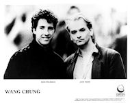 Wang Chung Promo Print