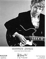 Warren Zanes Promo Print