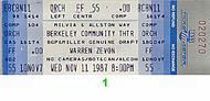 X 1980s Ticket