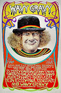 Wavy Gravy 50th Birthday Benefit Poster