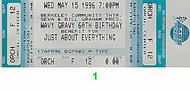 Pete Sears 1990s Ticket