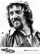 Waylon Jennings Promo Print