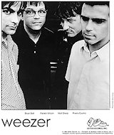 Weezer Promo Print