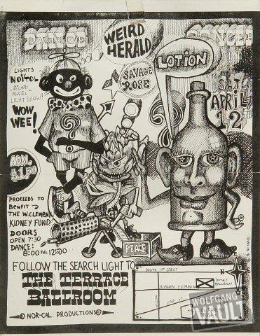 Weird HeraldHandbill