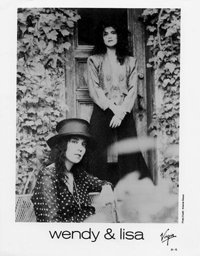 Wendy & Lisa Promo Print