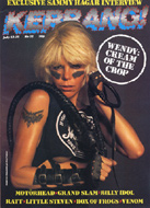 Wendy O. Williams Magazine