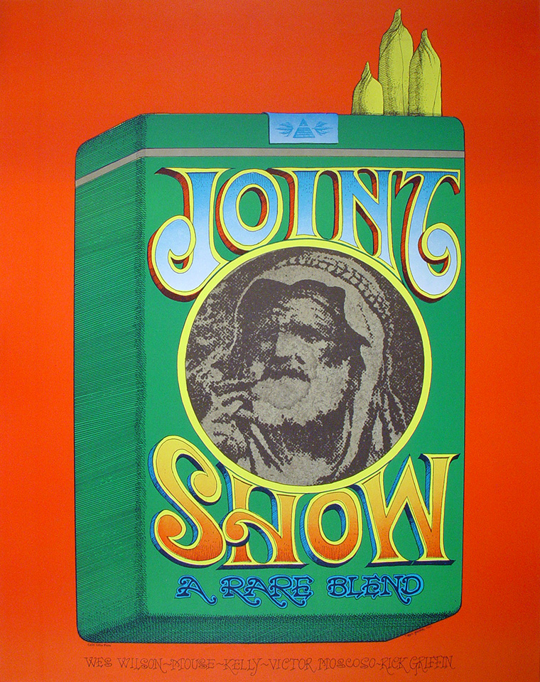 Wes Wilson Poster