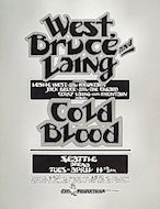 West, Bruce &amp; Laing Poster