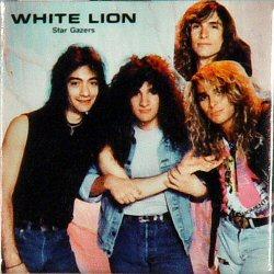 White LionVintage Pin