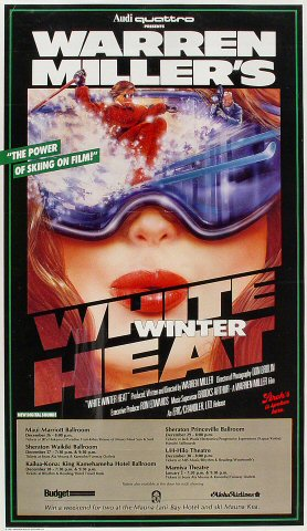 White Winter Heat Poster