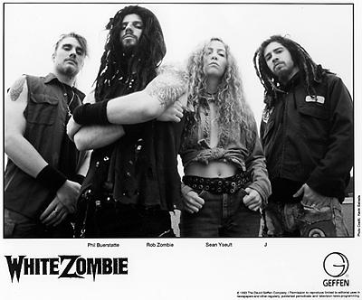 White ZombiePromo Print