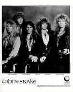 Whitesnake Promo Print