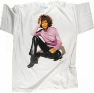 Whitney Houston Men's Vintage T-Shirt