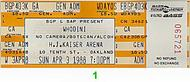 Whodini 1980s Ticket