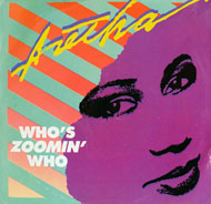 "Who's Zoomin' Who Vinyl 7"" (Used)"
