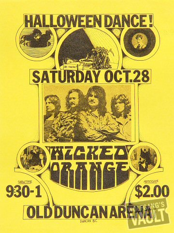 Wicked Orange Handbill