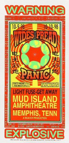 Widespread Panic Handbill