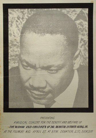 Widow and Children of Dr. Martin Luther King, Jr. BenefitPoster