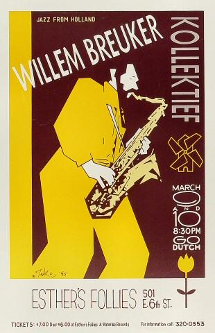 Willem Breuker Poster