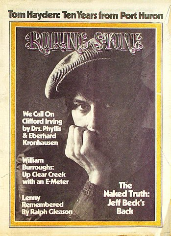 William Burroughs Rolling Stone Magazine