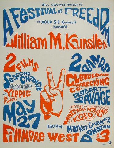 William M. Kunstler Poster