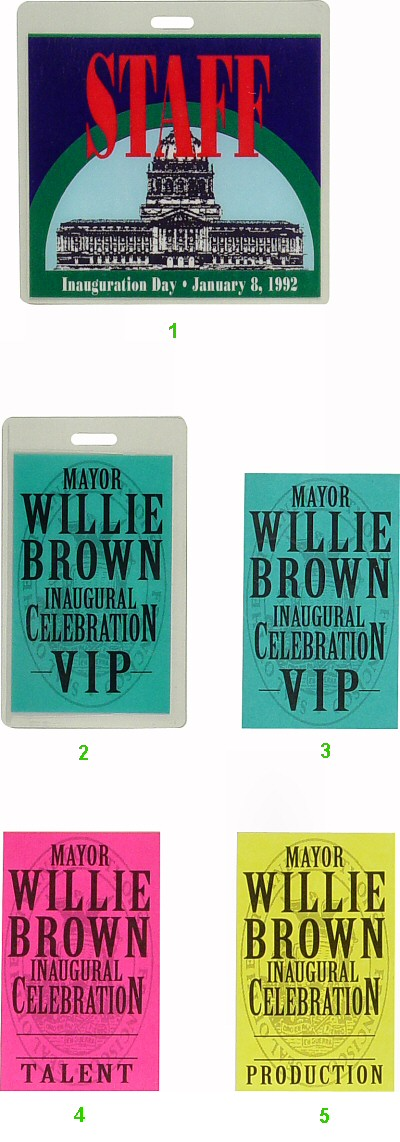 Willie Brown Laminate