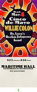 Willie Colon 1990s Ticket