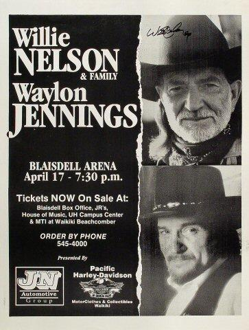 Willie Nelson and Family Poster