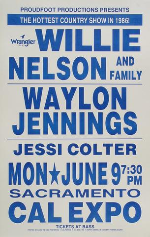 Waylon Jennings Poster